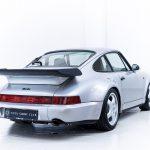 Porsche 911 Turbo zilver-4176