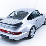 Porsche 911 Turbo zilver-4177