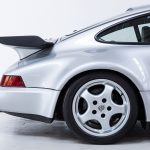 Porsche 911 Turbo zilver-4199