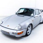 Porsche 911 Turbo zilver-4214