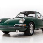 Porsche 911S groen-