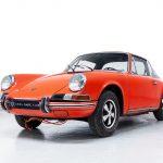 Porsche 911T oranje-
