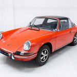 Porsche 911T oranje--3