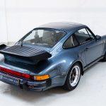 Porsche 930 Turbo blauw-0976