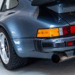 Porsche 930 Turbo blauw-0983