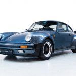 Porsche 930 Turbo blauw-