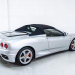 Ferrari 360 Spider zilver-8401