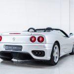 Ferrari 360 Spider zilver-8409