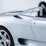 Ferrari 360 Spider zilver-8436