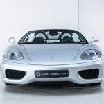 Ferrari 360 Spider zilver-8442