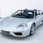 Ferrari 360 Spider zilver-8443