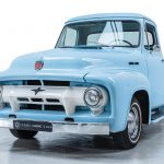 Ford Pick-Up blauw-