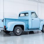 Ford Pick-Up blauw-8554