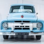 Ford Pick-Up blauw-8559