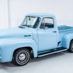 Ford Pick-Up blauw-8560