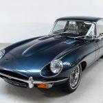Jaguar E-Type blauw-6203