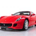 Ferrari 599 GTB rood-