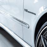 Mercedes E55 AMG grijs-8481