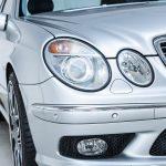 Mercedes E55 AMG grijs-8482