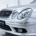 Mercedes E55 AMG grijs-8484