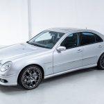 Mercedes E55 AMG grijs-8485
