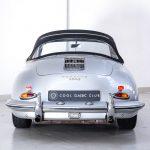 Porsche 1600 cabrio zilver-9198