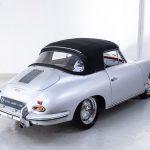 Porsche 1600 cabrio zilver-9199