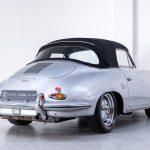 Porsche 1600 cabrio zilver-9200