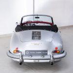 Porsche 1600 cabrio zilver-9203