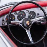 Porsche 1600 cabrio zilver-9211