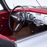 Porsche 1600 cabrio zilver-9220