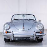 Porsche 1600 cabrio zilver-9234