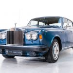 Rolls Royce Corniche II blauw-