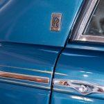 Rolls Royce Corniche II blauw-9377