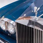 Rolls Royce Corniche II blauw-9386