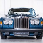 Rolls Royce Corniche II blauw-9392