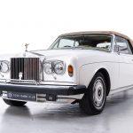 Rolls Royce Corniche II wit-