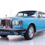 Rolls Royce Silver Shadow II blauw-