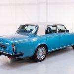 Rolls Royce Silver Shadow II blauw-9411