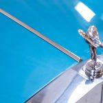 Rolls Royce Silver Shadow II blauw-9445