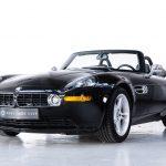 BMW Z8 zwart-