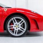 Ferrari F430 Spider rood-9871