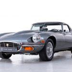 Jaguar E-Type hardtop grijs-