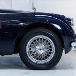 Jaguar XK150 blauw-9930