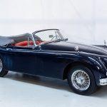 Jaguar XK150 blauw-9931