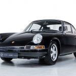 Porsche 911T zwart-