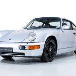 Porsche 964 Carrera zilver-
