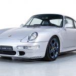 Porsche 993 Carrera S zilver-