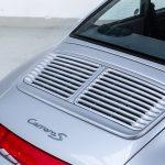 Porsche 993 Carrera S zilver-9760