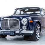 Rover 3.5 Coupe blauw-